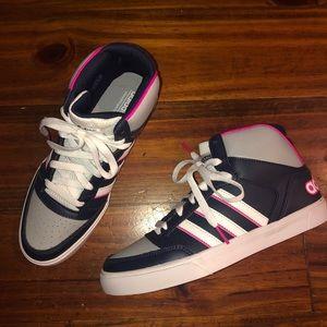 Adidas high top sneakers!